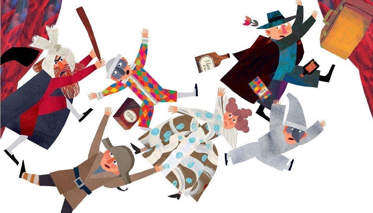Illustrations for Gianni Rodari | 100 Gianni Rodari