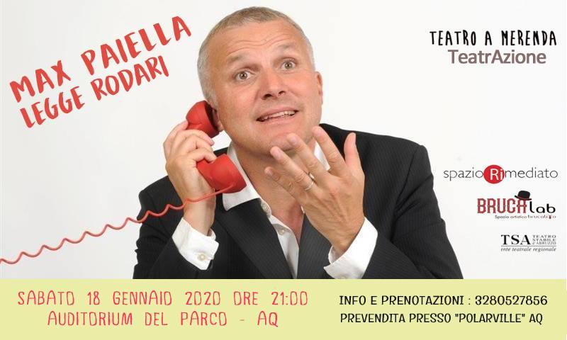 Max Paiella legge Rodari