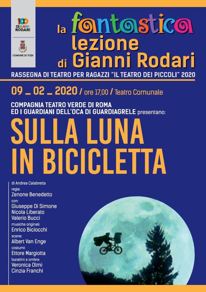 Sulla Luna in bicicletta